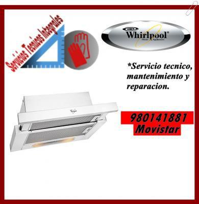 980141881 whirlpool servicio tecnico campanas extractroras