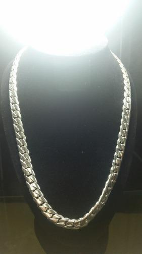 Cadena de plata 950 modelo lomo de corvina gruesa 120 gr