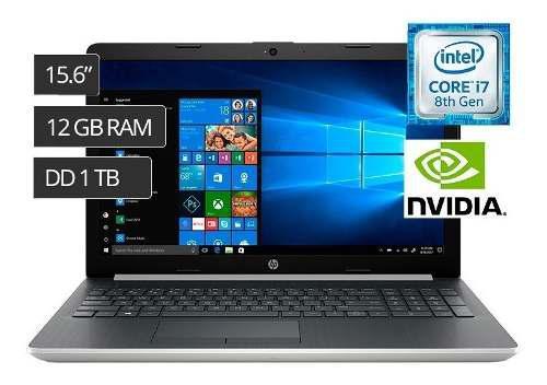 Hp Laptop 15-da0015la 15.6 Core I7 8550u 1tb 12gb 4gb Nvide