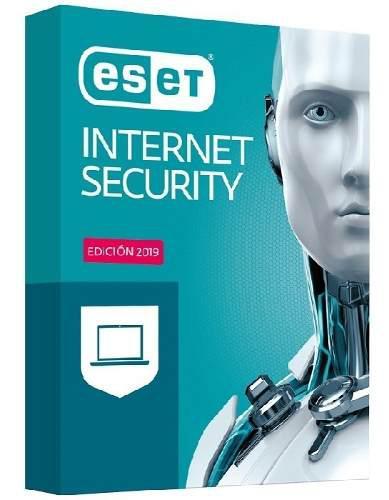 Nod32 Antivirus Eset Internet Security 12 2019 3 Pc 2 Años