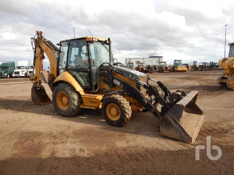 Retroexcavadora caterpillar 420e import