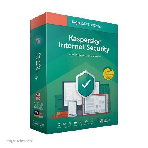 Software Kaspersky Internet Security 2019 3pc 1ano Presen