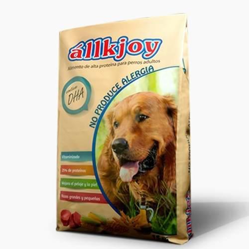 Allkjoy adulto antialergico 15 kg alimento delivery gratis