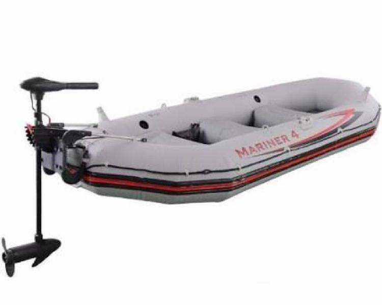 Bote inflable mariner 4 mas motor base