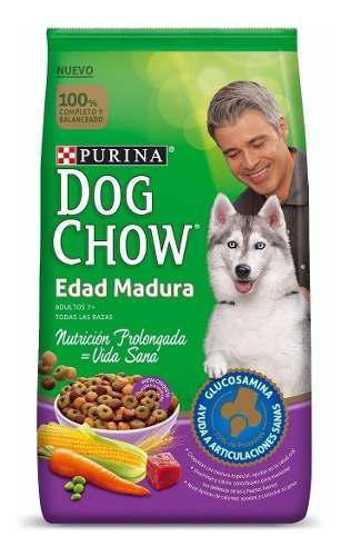 Cambia su alimento si tu perro es mayor a 7años x dog chow