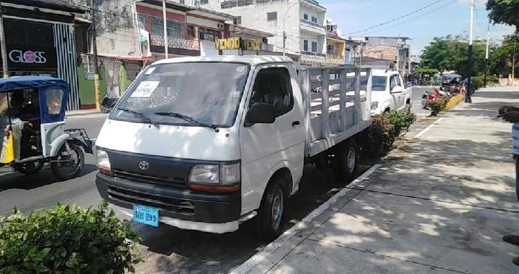 Camioncito toyota motor 3l