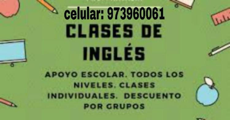 Clases de ingles para niños y adultos