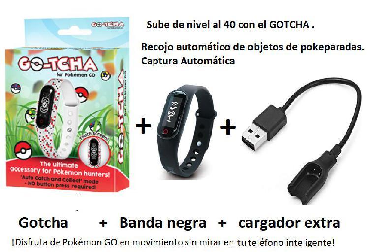 Gotcha go plus pulsera automática pokémon go