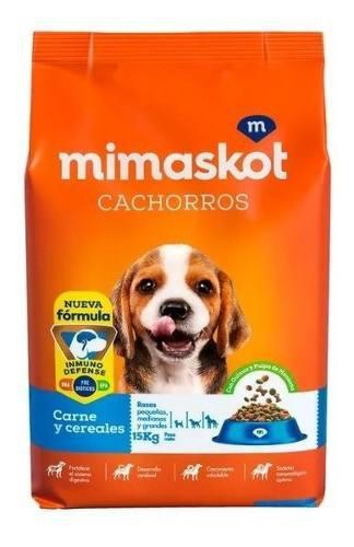 Mimaskot cachorro carne leche 15 kg aliment delivery gratis