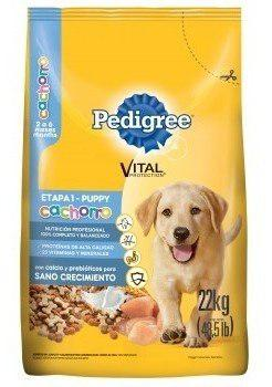 Pedigree cachorro 22 kg alimento dog puppy delivery gratis