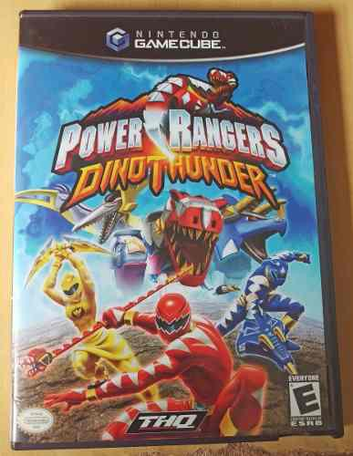 Power rangers dino thunder para gamecube