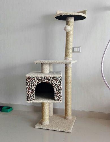 Rascador para gatos modelo perla, mascotas