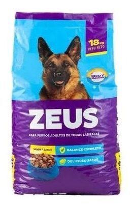 Zeus adulto carne pollo 15 kg alimento dog delivery gratis