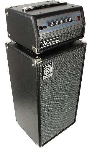 Amplificador cabezal gabinete 200 watts ampeg micro vr stack