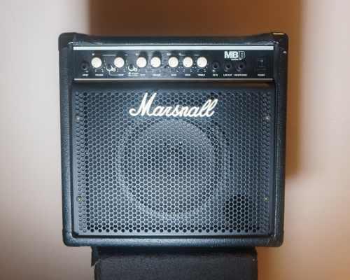 Amplificador de bajo marshall mb15 15 watts