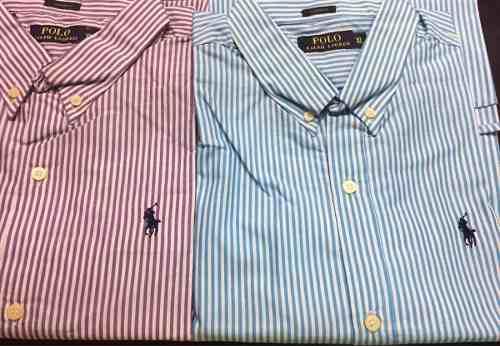 Camisas polo ralph lauren a rayas colores talla xl