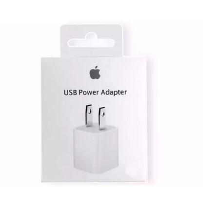 Cargador iphone 6 7s 7s plus 100% original ipod cubo apple
