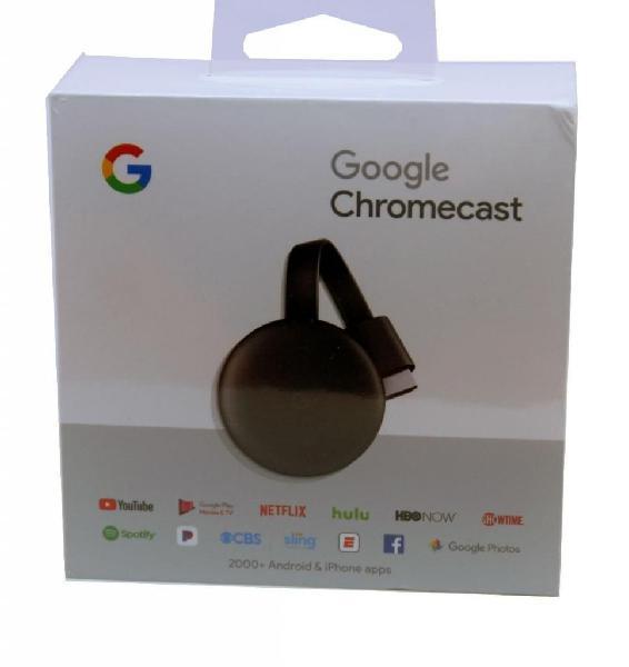 Google chromecast 3 apple android tv