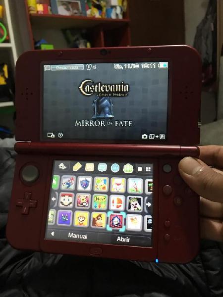 Nintendo new 3ds flasheada