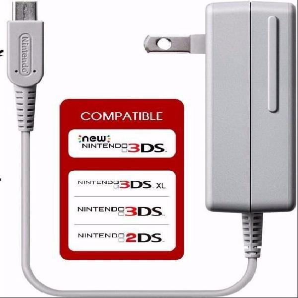 Nintendo new 3ds xl cargador original nintendo