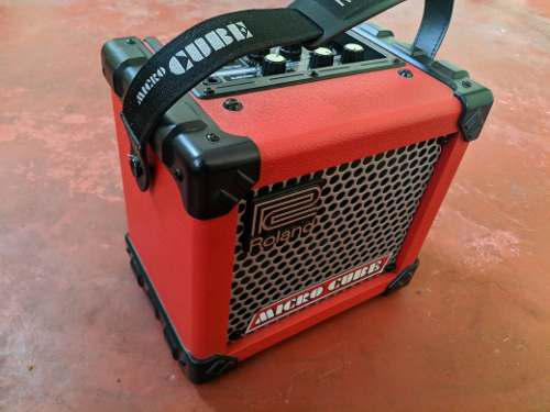 Oferta!! amplificador de guitarra roland micro cube!!