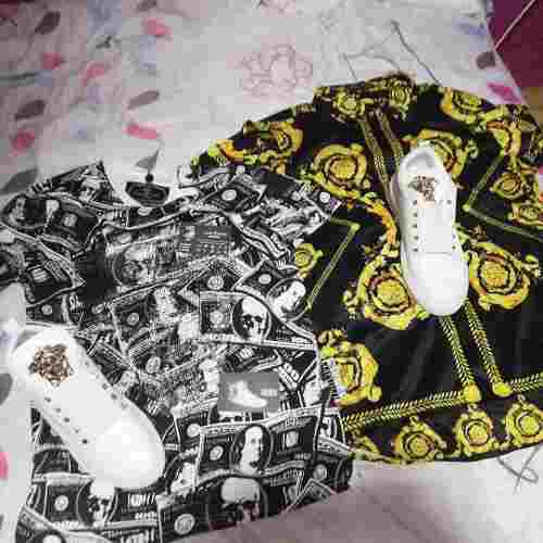 Zapatilla versace camisa versace polo philip plein