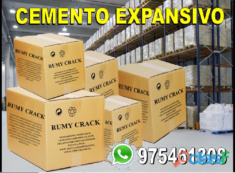 Venta y distribución de cemento expansivo a ni nacional !! informes al 975461308 !!vel