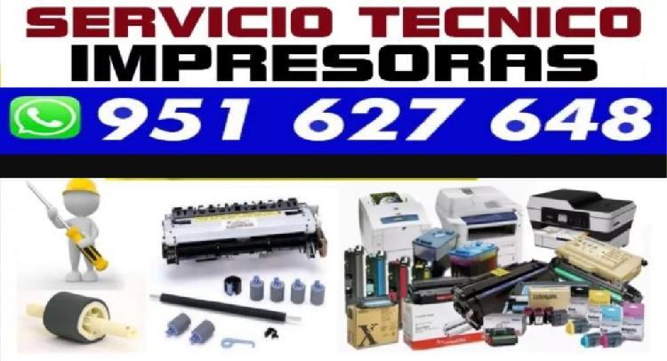 Tecnico impresoras s/30 fotocopiadoras