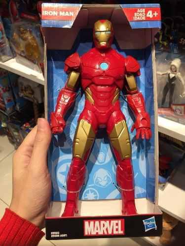 Figuras spiderman iron man pantera captain america hasbro