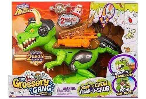 Grossery gang - trash o saur - trash pack - trash o saurio