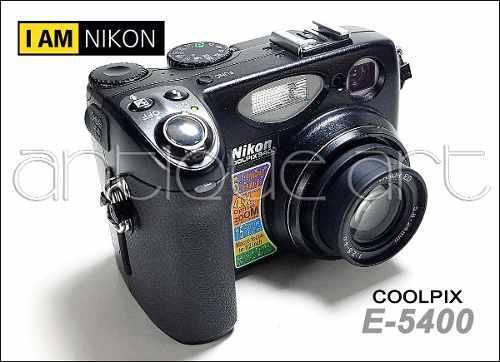 A64 Camara Nikon Coolpix E-5400 Bateria Cargador Correa Cf