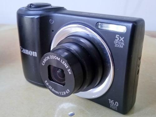 Camara Canon 16 Megapixeles Digital Powershot A 810 Hd