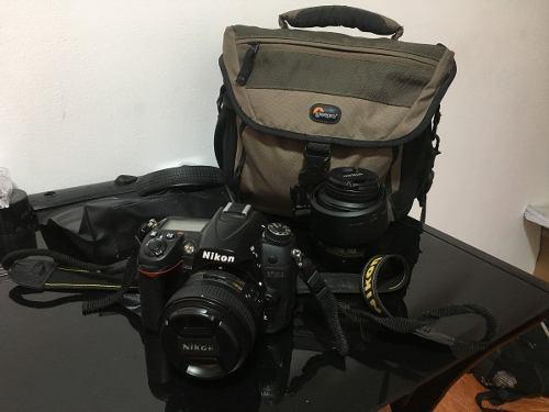 Camara Nikon D7000 Y Accesorios