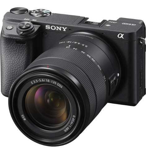 Camara Sony A6400
