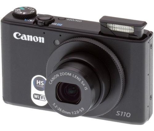 Canon Powershot S110 - Cámara Digital Compacta De 12.1 Mp