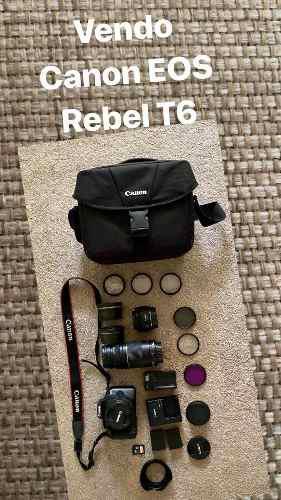 Cámara Canon Rebel T6
