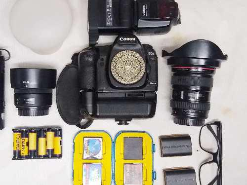 Equipo Completo Cámara Canon 5 D Mkii