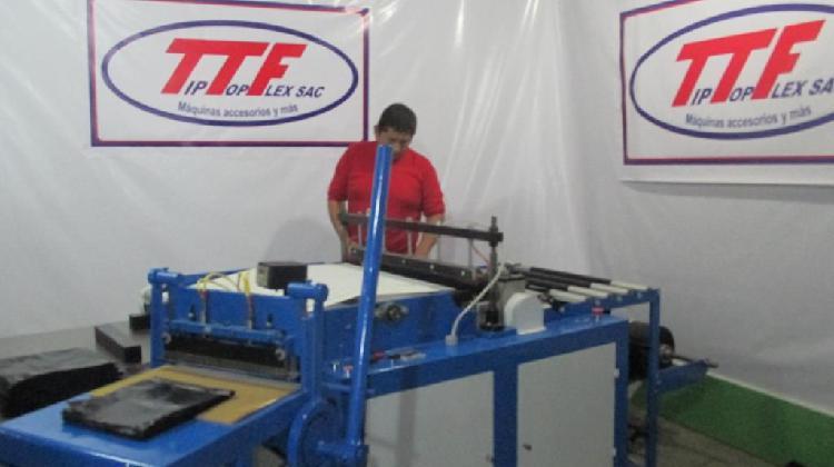 Maquina automatica con sello lateral electronica