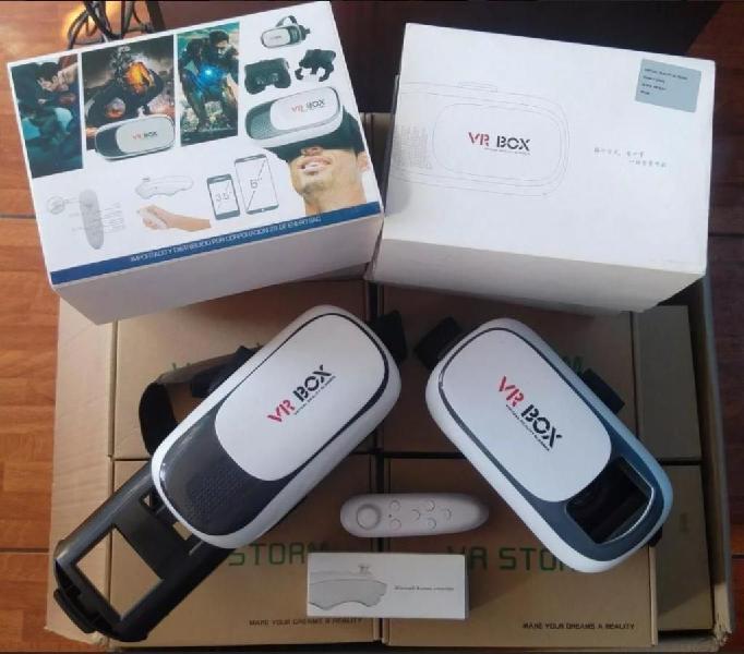 Oferta!! lentes realidad virtual vr box 2.0 control