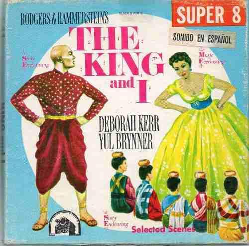 Rey y yo king and i yul brynner deborah kerr super 8 sonoro
