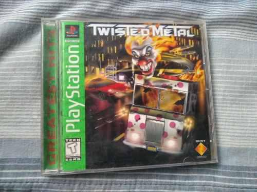 Twisted metal juegos ps1 original buen estado