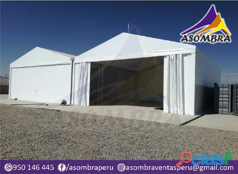 Carpas y campamentos para campaña / asombra perú