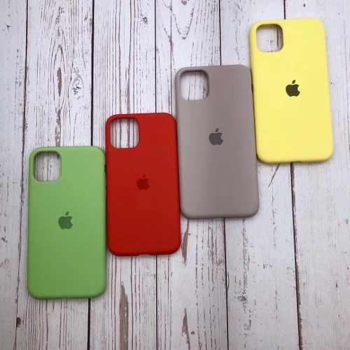 Cases Siliconas Apple Para iPhone 11, 11 Pro Y 11 Pro Max