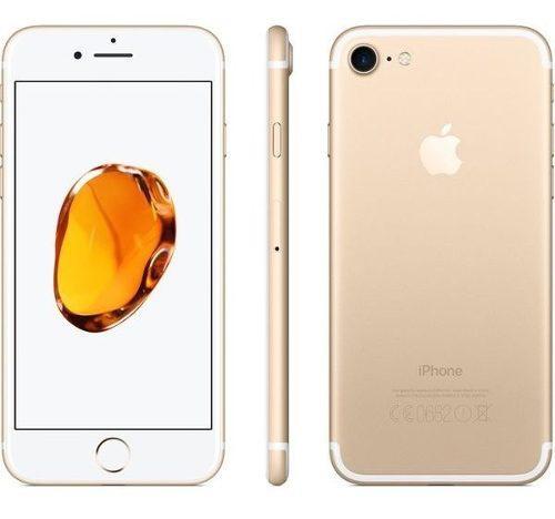 Celular iPhone 7 32gb Oro Gold Nuevo En Caja Con Accesorios