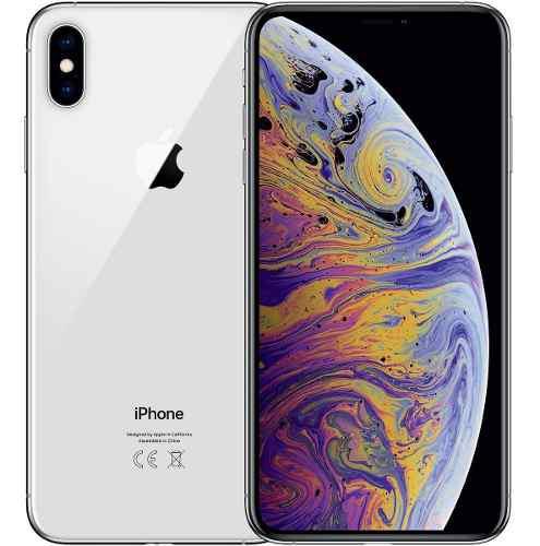 Iphone xs max 64gb silver blanco sellado garantía tienda