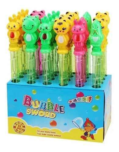 Burbujas juguetes sorpresas infantiles regalo fiesta