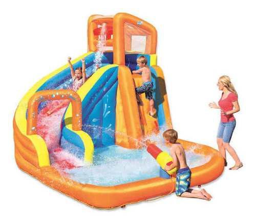 Castillo piscina inflable acuático juegos para niños