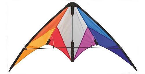 Cometa acrobática calypso i i rainbow h q kites u s a