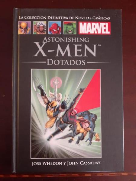 Comic x-men dotados tapa dura 9/