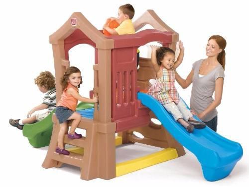 Torre escaladora, resbaladera. juegos para nidos,